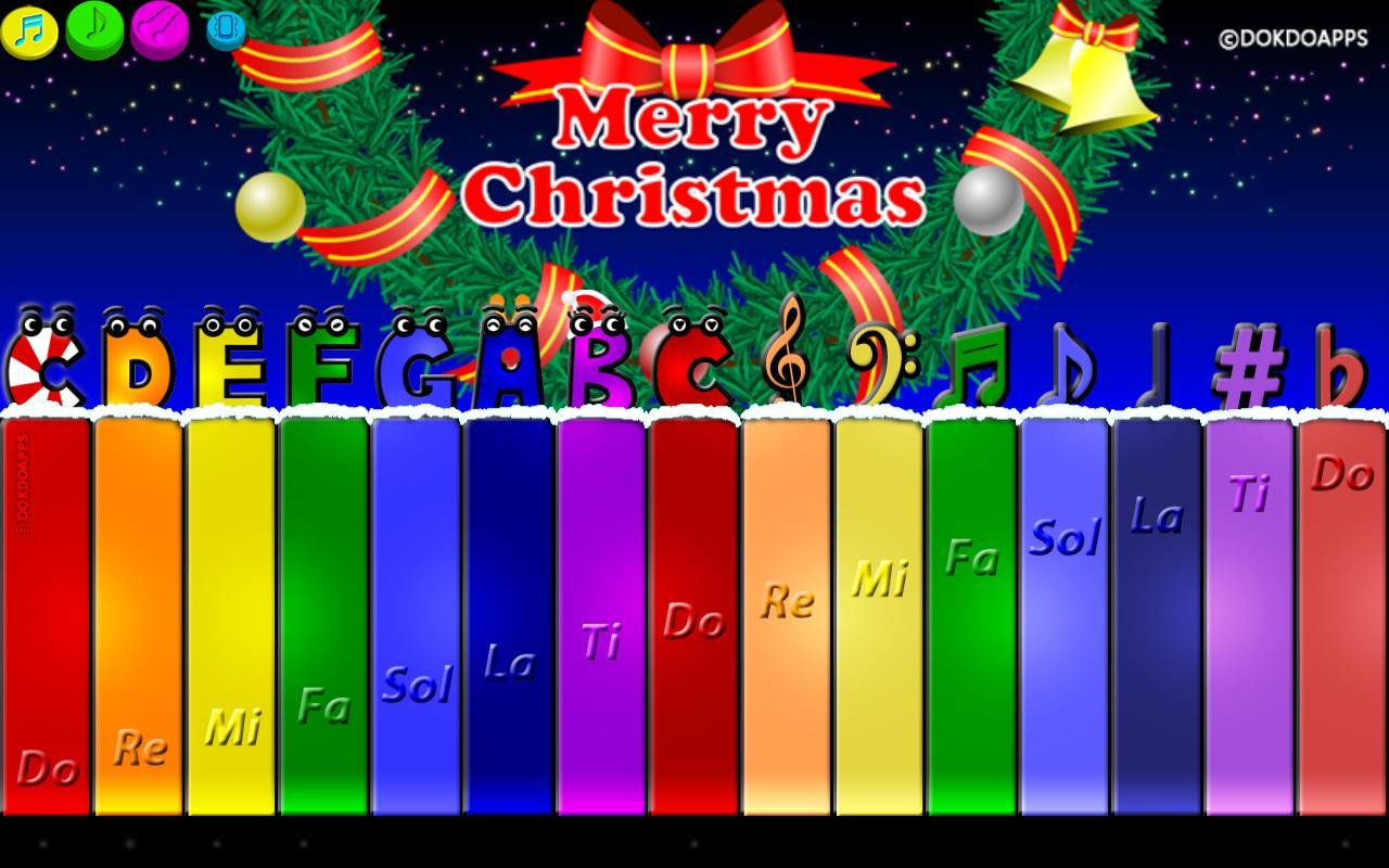 圣诞节钢琴