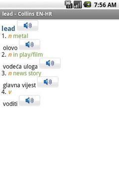English<>Croatian Dictionary T