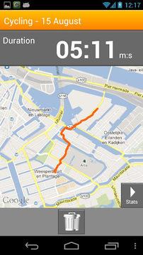 VirtuaGym Cardio GPS