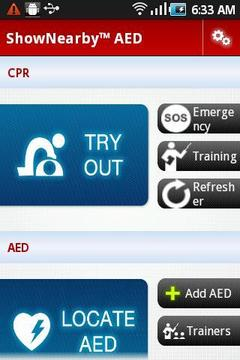 ShowNearby™ AED