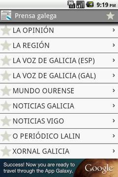 Prensa galega