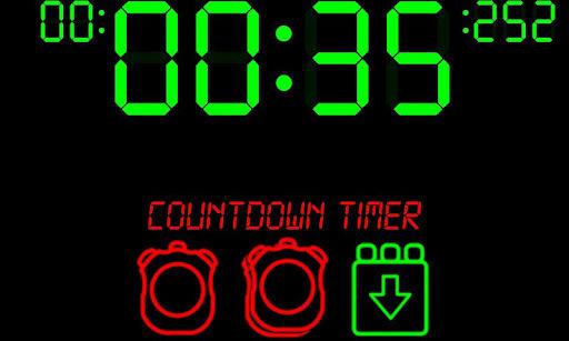 数字定时器和秒表