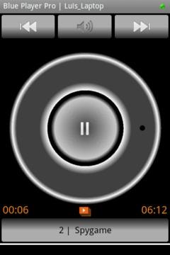 Blue Media Player Control DEMO