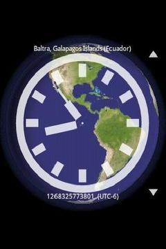 3D world clock global time