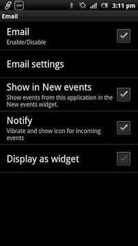 电子邮件Smart Extras™