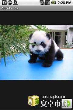 可爱熊猫图片