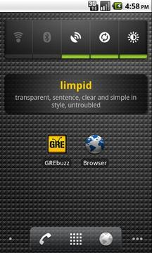 GRE Buzz - A Word A Day Widget