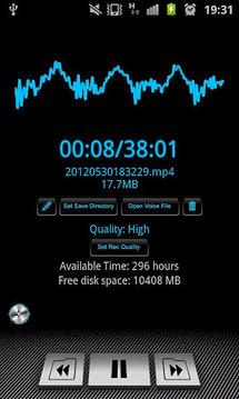Voice Recorder Widget