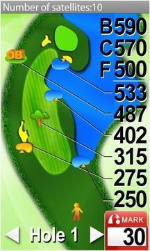 高尔夫球GPS