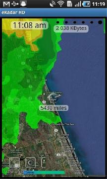 实时气象雷达