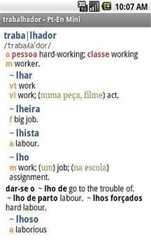 牛津葡萄牙语迷你字典