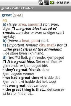 柯林斯挪威词典
