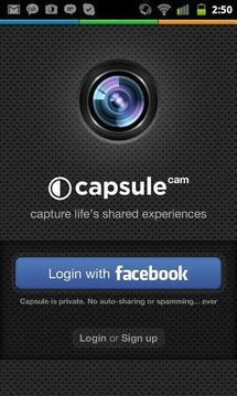群组照片分享相机 Capsule Cam