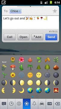 chomp SMS emoji add-on
