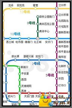 全国各城市地铁线路地图