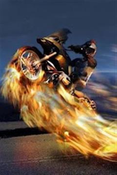 速度赛马摩托车