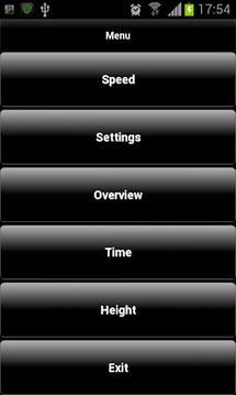 Android的车速表