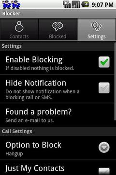 SMS & Call Blocker LITE