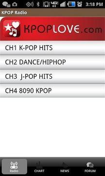 韩国流行音乐--KPOP无线电台