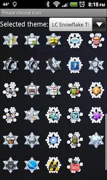 LC Snowflake Go Launcher