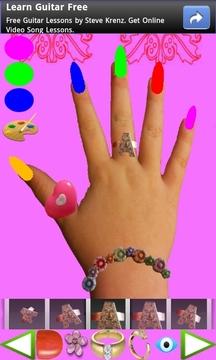 指甲为孩子装饰