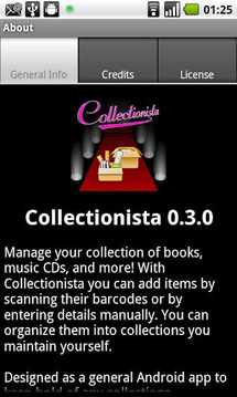Collectionista manager