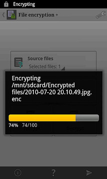 File encryption