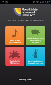 Memphis in May 2012