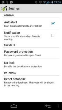 Trust程序追踪