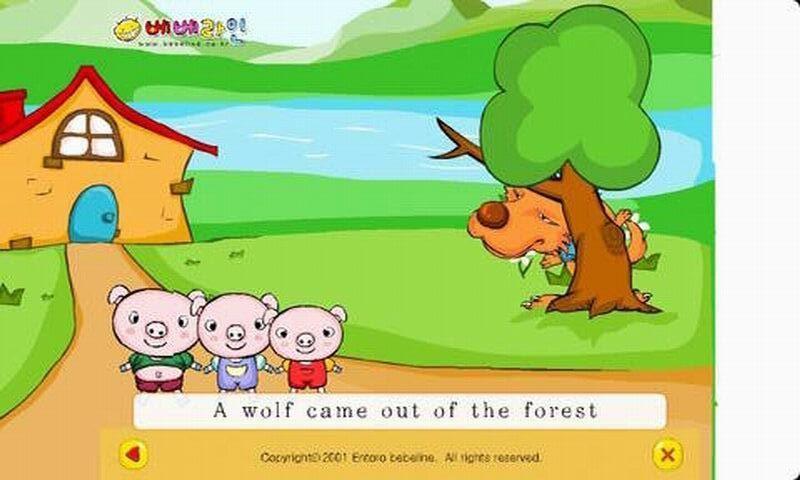 儿童英文儿歌1(flash)图片
