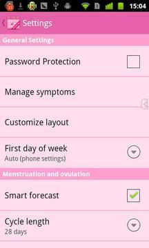 安全期日历高级版 Menstrual Calendar Premium