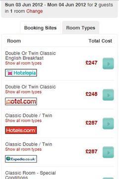 酒店价格比较