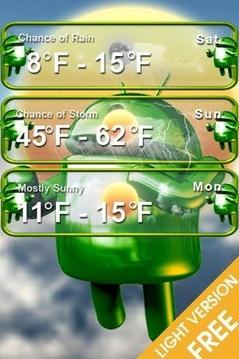 免费的Android天气