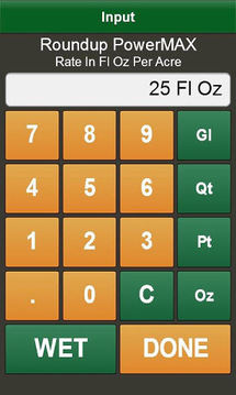 Tank Mix Calculator