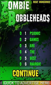Zombie Bobbleheads