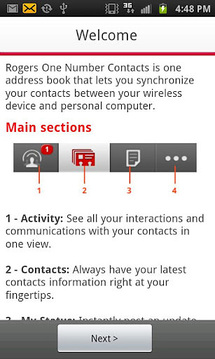 Rogers One Number Contacts