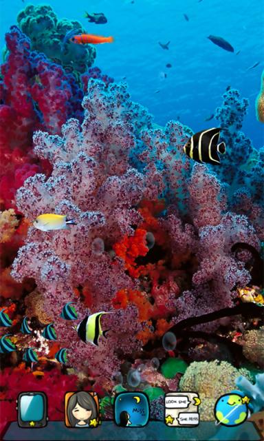 壁纸 海底 海底世界 海洋馆 水族馆 桌面 384_640 竖版 竖屏 手机