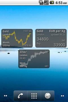 BullionVault Price Widget