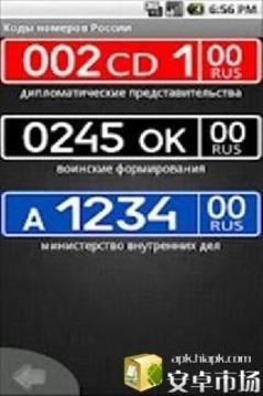 俄罗斯的所有车牌