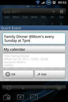 Quick Event