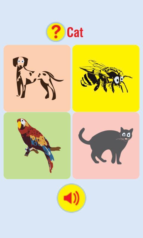 让您的孩子探索动物世界,学习他们的名字,记住他们的声音.