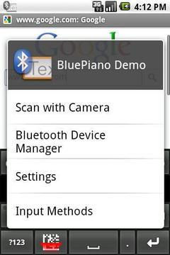 蓝牙键盘 BluePiano