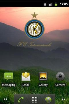 Inter Clock Widget