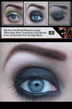 眼部化妆创意书