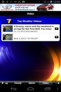 WDAM 7 Hattiesburg Weather