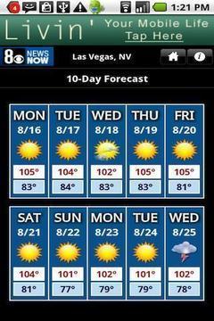 维加斯天气