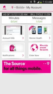 T-Mobile MyAccount