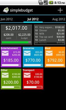 SimpleBudget(信封预算)