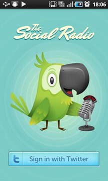 The Social Radio for Twitter