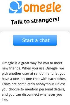 Omegle Android FREE